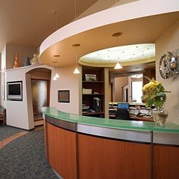 The front desk of Nelson Orthodontics in Ballard. Dr Nelson is a Seattle Orthodontist.