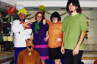 The team at Nelson Orthodontics dressed up as the cast of Scooby-Doo