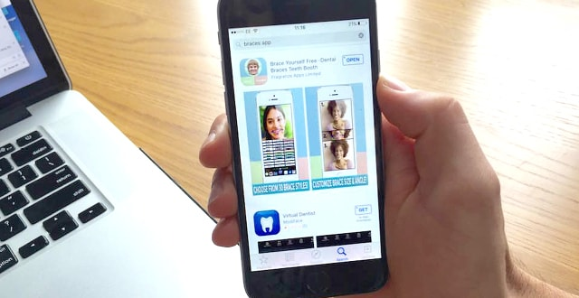 Brace Yourself app shown on iPhone.